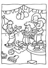 party coloring pages in shimosoku biz