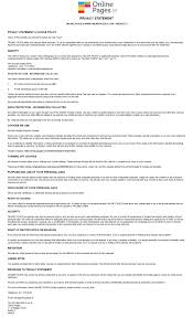transfer agreement template pages privacy policy pages privacy policy www onlinepages ie privacy