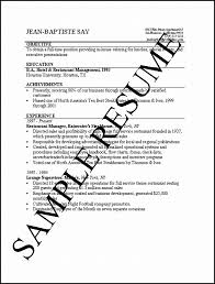 Example Resume  How To Write Objectives For Resume  how to write     executiveresumesample com