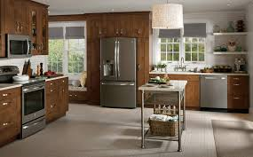 slate country kitchen photo design ge appliances
