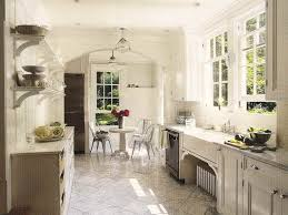 White Country Kitchen Cabinets French Kitchen Designcolor Turns All White Kitchen Into A French