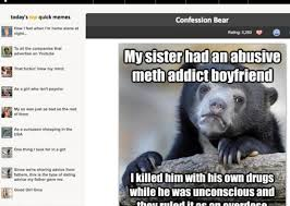 Confession Bear murder  Did Reddit user Naratto use an AdviceAnimals meme to admit he killed someone  Slate