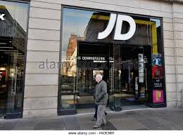 JD Sports Fashion plc  clothing store in the centre of Glasgow  Scotland  UK Alamy