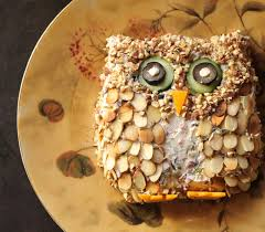 where your treasure is owl cheese ball