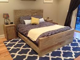 Cheap Wooden Bedroom Furniture by Bedroom Country Queen Bed Frame Which Are Made Of Reclaimed Wood
