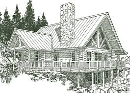 Small Log Home Floor Plans Manchester Log Home Plans