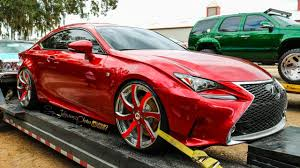 lexus nx marin candy red clean lexus rc f on forgiato wheels in hd must see