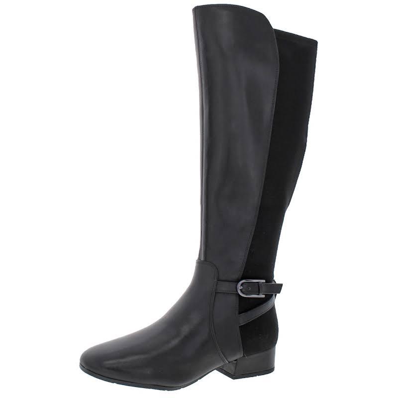 Easy Spirit Debut Tall Knee High Riding Boots Black 9 Medium (B,M)