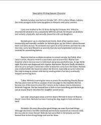 Descriptive Essay Examples For Middle School   Essay Free Essays and Papers