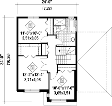 Contemporary Style House Plans Contemporary Style House Plan 3 Beds 1 00 Baths 1536 Sq Ft Plan