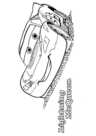 free printable lightning mcqueen coloring pages print cartoon