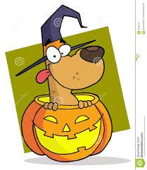 cartoon character halloween dog stock image image 15309781