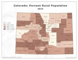 County Map Of Colorado State Demography Office