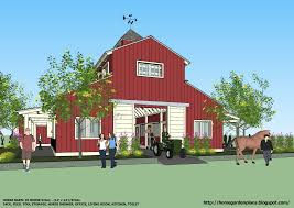 3 stall horse barn plan with ground apartment barn maybe one day