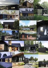 diy house build house exterior ideas black vs natural