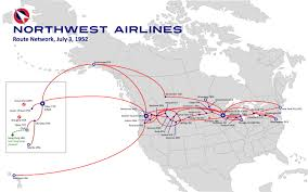 Dca Map Northwest Airlines Route Map Yahoo Image Search Results