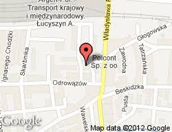 Azalia Barbara Brzostek, Gliwice, Odrowążów 101 - Ogólnopolski ... - H024957_mapa