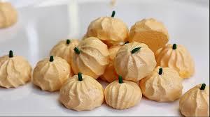 easy pumpkin meringue cookies recipe youtube