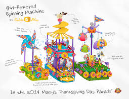 when is the thanksgiving day parade 2014 goldieblox toys get a float in the macy u0027s thanksgiving day parade
