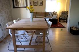 furnish your family room with ikea norden table the new way home