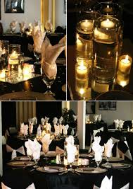 Sensational Theme by Black And White Themed Wedding Reception Choice Image Wedding