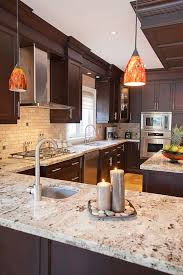 cherry cabinets in kitchen best 25 light granite ideas only on pinterest white granite