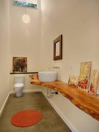 Bathrooms Design A Natural Treat Live Edge Vanity Top Redefines Modern Bathrooms