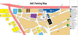 Chicago Parking Map by Parking American Airlines Center