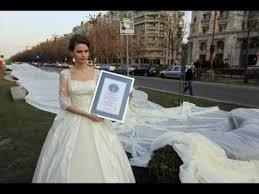 Record-breaking Wedding Dress Has Two-mile-long Train