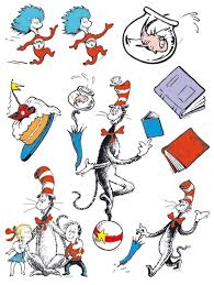 dr seuss cat in the hat standup 6 u0027 tall birthdayexpress com