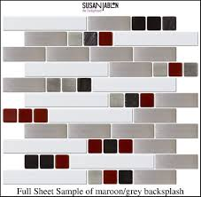 Red White And Black Kitchen Ideas Red Black Grey White Kitchen Backsplash Great Around Master