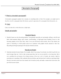 descriptive essay example place sample of descriptive essay Descriptive Essay Example Place   Busstop Resume Is Everything You Descriptive Essays