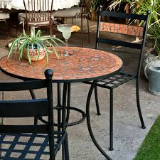 Black Wrought Iron Patio Furniture Sets by Belham Living Wrought Iron Bar Height Bistro Set By Woodard