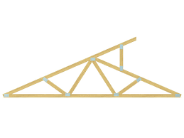 all about roofs pitches trusses and framing diy