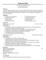 Resume Writing For Teaching Job by Best Lead Educator Resume Example Livecareer