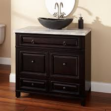 Black Distressed Bathroom Vanity by Bathroom Choose Your Favorite Kitchen And Bar Lowes Sink Design