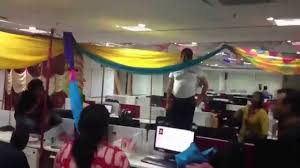 bay decoration competition at mumbai office time lapse youtube