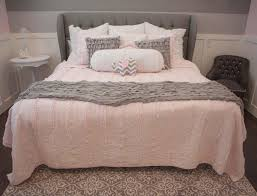 Pink Room Ideas by Pink And Grey Bedroom Ideas Newhomesandrews Com