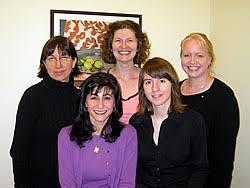 University of Washington Department of Psychology Top row  Joyce Bittinger  Helen Miller  Lori Zoellner  Bottom row  Afsoon