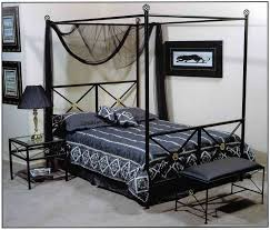 wrought iron queen bed beautiful queen canopy bed frame brings