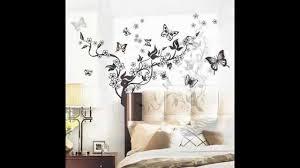 flowers vine butterflies removable vinyl wall decal sticker art flowers vine butterflies removable vinyl wall decal sticker art mural home decor