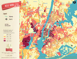 Map New York City by Map This 7 Cool New York City Maps To Teach You Something New 6sqft