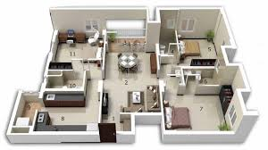 3 Bedroom House Designs Pictures 25 Three Bedroom House Apartment Floor Plans