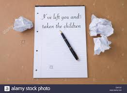 Paper With Writing Screwed Up Paper Stock Photos Screwed Up Paper Stock Images Alamy