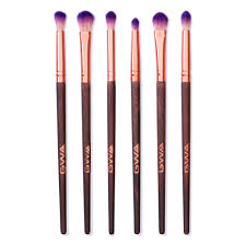 6pcs eye blending brush set makeup brushes gwa london