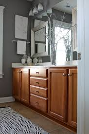 Paint Colors For Kitchen Walls With Oak Cabinets Gray Bathroom Wall Color This Is The Color Of The Wood In Te House