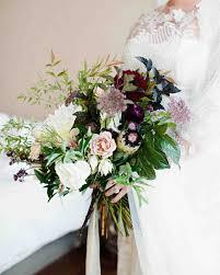 composition florale haute purple wedding bouquets martha stewart weddings