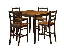 Patio Furniture Counter Height Table Sets - brown coated iron garden chair with wicker seating and ornate arms