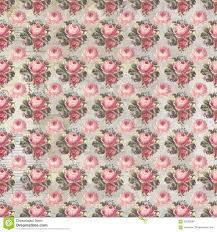 Shabby Chic Pink Wallpaper by Antique Pink And Red Shabby Chic Rose Repeat Pattern Wallpaper