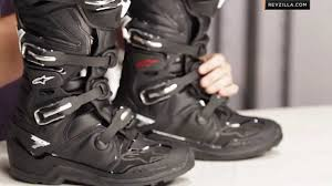 motorcycle racing boots for sale alpinestars tech 7 enduro boots review at revzilla com youtube